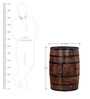 Norah Rio Bar Cabinet in Provincial Teak Finish by Bohemiana