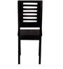 Oregon Solid Wood Dining Chair in Espresso Walnut Finish by Woodsworth