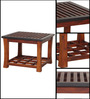 Cordoba Coffee Table in Two Tone Finish by Woodsworth
