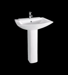 Cera Concord White Ceramic Wash Basin