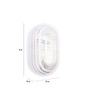 Cecelia Wall Light in Transparent by CasaCraft