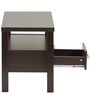 Center Table with Two Drawers in Wenge Finish by Marco