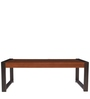 Center Tables with Nest Of Tables Moulding in Walnut Colour by ARRA