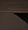Central Table in Wenge Colour by Crystal Furnitech
