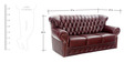 Chester Three Seater Sofa by Looking Good Furniture