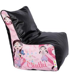Chota Bheem - Chutki Theme Filled Bean Bag Chair In Multi Colour By Orka