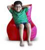 Chair Bean Bag (Cover Only) L size in Red Colour  by Style Homez