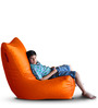 Chair Bean Bag (Cover Only) XL size in Elegant White Colour  by Style Homez