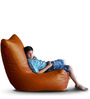 Chair Bean Bag (Cover Only) XXXL size in Tan Colour  by Style Homez