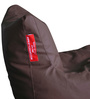 Chair Bean Bag XXXL size in Brown Colour with Beans by Style Homez