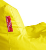 Chair Bean Bag XXXL size in Yellow Colour with Beans by Style Homez