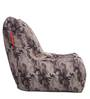 Chair Cotton Canvas Camouflage Design Bean Bag XXL Size Cover Only by Style Homez