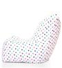 Chair Cotton Canvas Star Design Bean Bag XXL Size Cover Only by Style Homez