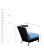 Chair Set with Easy Footrest & Centre Table by GEBE