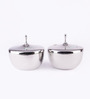 Chakmak Stainless Steel 1L Double Wall Donga with Lid - Set of 2