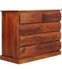 Savannah Solid Wood Chest of Drawers in Honey Oak Finish by Woodsworth