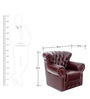 Chester Single Seater Sofa by Looking Good Furniture