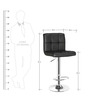 Chex Bar Chair in Black Colour by The Furniture Store