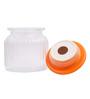 Chumbak Bird Cookie Orange Round 450 ML Jar