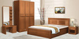 Ciara King Bed - with storage by Spacewood