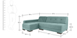 Clarence RHS Sofa in Blue Color by Furny