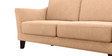 Clint Three Seater sofa in Light Camel Colour by Furny