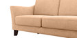 Clint Two Seater sofa in Light Camel Colour by Furny