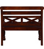 Carnegie Bench in Honey Oak Finish by Amberville