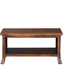 Amarillo Coffee & Centre Table in Provincial Teak Finish by Woodsworth