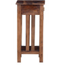 Lehnart End Table in Provincial Teak Finish by Amberville