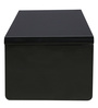Class Center Table in Shiny Black Finish by Parin