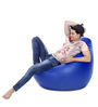 Classic Bean Bag (Cover Only) XXXL size in Royal Blue Colour  by Style Homez
