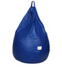 Classic Bean Bag Cover without Beans in Royal Blue Colour by Sattva