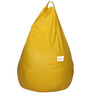 Classic Bean Bag Cover without Beans in Yellow Colour by Sattva