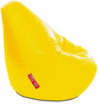 Classic Bean Bag XXXL size in Yellow Colour with Beans by Style Homez