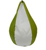 Classic Style Bean Bag Cover in Green White Colour by Orka