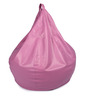 Classic Style Filled Bean Bag in Pink Colour by Orka