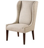 Classic Wingback Chair with Traditional Details by Afydecor