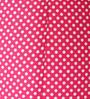 Classic Bean Bag Cover without Beans in Pink Color with Polka Dots by Sattva