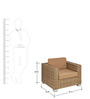 Clean Cut Single Seater Sofa by Alcanes