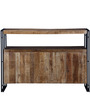 Odin Sideboard in Light Brown Finish by Bohemiana