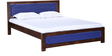 Coram King Size Bed in Provincial Teak Finish by Woodsworth