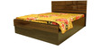 Cosmo King Bed with Hydraulic Storage  by Evok
