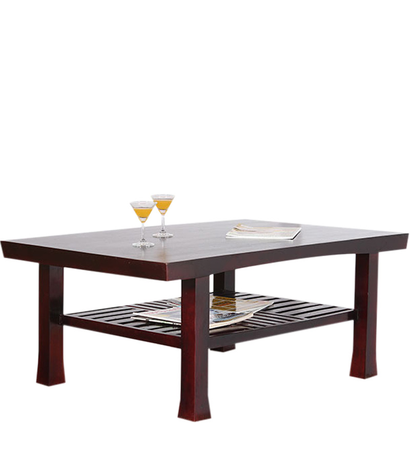 Manaus large coffee table in passion mahogany finish by - Vaisselle table passion ...