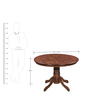 Coco Dining Set Four Seater by Royal Oak
