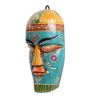 Cocovey Multicolour Wooden Decorative Wall Mask
