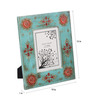 Cocovey Turquoise Wooden 10 x 12 Inch Photo Frame