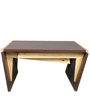 Coffee Table cum Six Seater Dining Table in Brown Finish by Arancia Mobel
