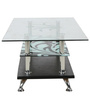 Coffee Table in Black & White Colour by Penache Furnishings