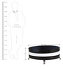 Coffee Table in White & Black Colour by Parin